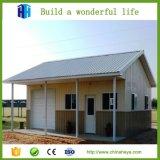 Chambre préfabriquée de mobilier amovible du jardin WPC de structure métallique de mesure de lumière de Heya