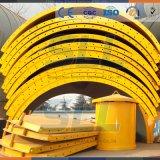 Silo de armazenamento químico de aço carbono com equipamento de coleta de poeira