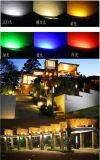Luz clara subterrânea do quadrado da luz do jardim da cor cheia do diodo emissor de luz