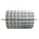 Papier d'aluminium dans l'alcool Prep Pad papier d'emballage, l'alcool tampon de coton