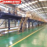Il tetto d'acciaio galvanizzato del ferro riveste la lamiera rivestita di colore