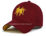 Бейсбольная кепка таможни высокого качества логоса вышивки