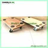 Almofada Redonda evolutivo móveis de madeira quadrados Dolly Carrinho de ferramenta