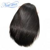 Pelucas brasileñas del pelo de Remy del pelo humano del cordón con el pelo del bebé