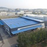 Stahlaufbau-vorfabrizierte Stahlrahmen-Zelle-modulares Lager