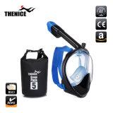 180 Grad-voller GesichtsmaskeSnorkel und schnorchelndes Set des trockenen Beutel-5L