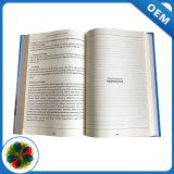 A4 de crema de cartón personalizadas cosidos en papel Impresión de libros de tapa dura para el comercio al por mayor