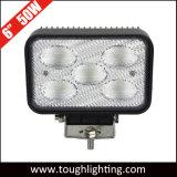 """EMC aprobado 6"""" cuadrado de 50W LED CREE las luces de conducción del tractor"""