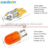 T20 7443 W21/5W 7440 Wy21W bernsteinfarbiges LED Drehung-Signal-Auto-Licht