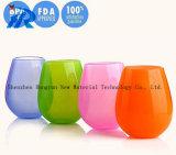 12ozプラスチック白いLolitaのワイングラス