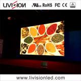 P3.91indoor LED Location mur vidéo Conférence de l'écran montrent l'étape