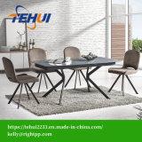 Pátio com jardim lazer moderno Home Office Mobiliário mesa extensível de jantar