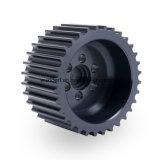 CNC anodizzato dell'alluminio che gira corsa della puleggia cronometrante dell'attrezzo della camma del motore