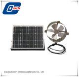 12V DC Ventilación Solar, ventilador de pared con fachada de 12 pulg.