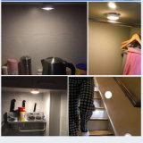 キャビネットライト電池式の戸棚のキャビネットLEDライトの下の台所LED