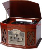 Aison New Products Box Turntable mit Aux in Earphone Jack