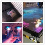 P5 P6 P8 P10는 스크린 단계 댄스 플로워 발광 다이오드 표시 춤 LED 상호 작용한다
