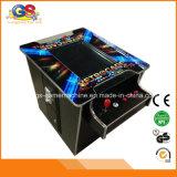 Máquina de jogo da máquina da arcada do cocktail da parte superior de tabela com invasores Pacman Galaga do espaço