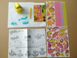 Niños juguetes de papel de bricolaje para los animales de aves