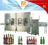 Relleno de la cerveza de la botella de cristal 8000bph y máquina automáticos del lacre