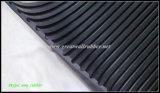 Estera de goma Acanalado-Aislador de la hoja, estera de goma aislador eléctrica del suelo del suelo