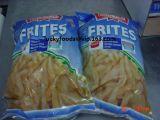 Pour de pommes de terre fraîches Frites
