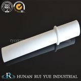 El tubo de alúmina Al2O3 Tubos de cerámica alúmina / tubo de doble tubo de alúmina / fabricante chino