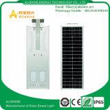 Nuovo indicatore luminoso di via solare esterno Integrated di 40W LED con illuminazione del giardino del sensore di movimento