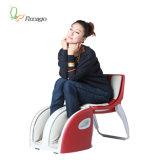 발 안마 의자는 빨강과 까만 색깔에 Foldable 일 수 있다