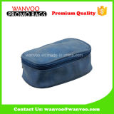 Затавренный голубой PU водоустойчивый вися мешок Toiletry дела перемещения