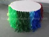 Цвет Brown Shinning крышка таблицы PVC для используемой гостиницы (CGTC1715)
