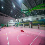 Modernes Stahlrahmen-Gymnastik-Gebäude für Innenkorb-Gericht