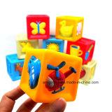 Пластичные игрушки строительных блоков для малышей (10 PCS)