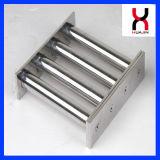 Фильтр неодимия магнитный с 304 пробками для индустрии пластмасс