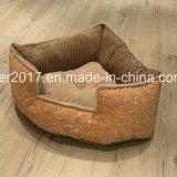 삼각형 형식 고품질 개 매트리스 침대 고양이 소파 침구
