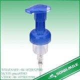 30/410 di pompa facciale blu della gomma piuma della pulitrice dei pp per la bottiglia dello sciampo