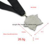 Изготовленный на заказ медали легирующего металла цинка формы звезды