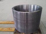 Kundenspezifische CNC maschinell bearbeitete Edelstahl-Flansche