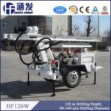 plate-forme de forage de forage de puits d'eau du constructeur Hf120W de 120m Chine à vendre