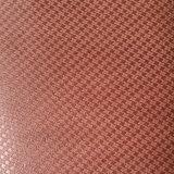 Geprägtes Z-Geformtes Veloursleder Microfiber PU-Leder für Schuhe bauscht sich (HS-M1702)