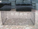 Rete metallica rivestita di Galvanized/PVC Gabion