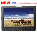 IPS LCD van 10.1 Duim Monitor met de Dubbele 3G Ingevoerde Naadloze Schakelaar van HD Sdi