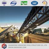 Структура ленточного транспортера поддерживая стальная