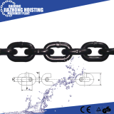 Vorteilhafte des Preis-G80 schwarze Link-Kette Legierungs-des Chain-14mm
