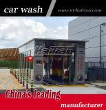 Matériel de lavage de voiture de tunnel de balais de la qualité 11 de la Chine avec le système de mousse et de cire