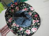 女性のためのカスタマイズされた方法大きい縁の日曜日のバケツの帽子
