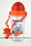 450 мл наиболее красивых красочных бутылка воды для детей, зеленый цвет Cute Бутылка воды