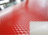ダイヤモンドカラー屋根ふきシートか浮彫りにされたカラーによって電流を通される鋼板
