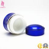 Nuovo contenitore cosmetico blu alla moda progettato della porcellana