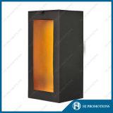 Boîte de empaquetage de estampage chaude à vin (HJ-PPS02)